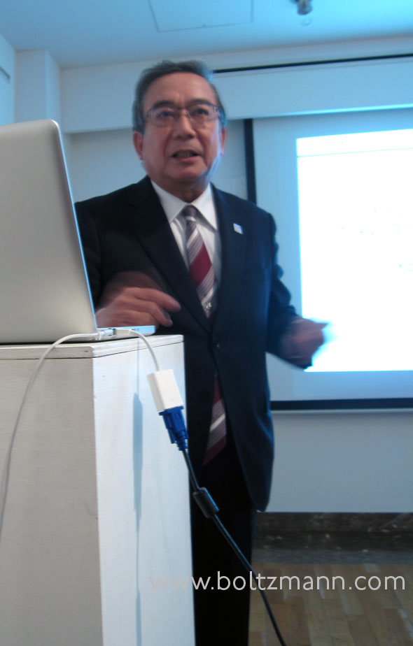 Professor Yoshinao Mishima, President of Tokyo Institute of Technology
