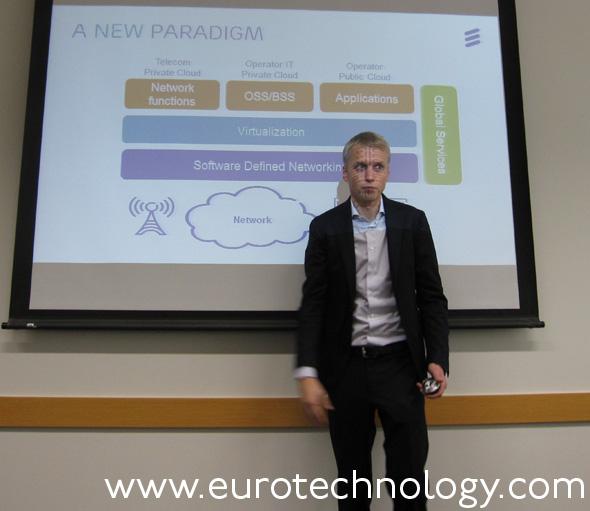 Daniel Ehrenstrahle, Head of Strategy & Portfolio, BU Networks, Ericsson