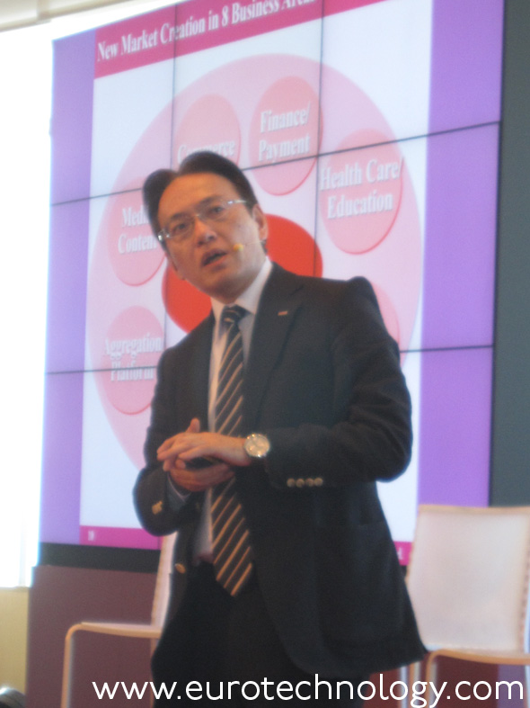 Hiroyasu Asami, Managing Director of Smart-Life Business Division, NTT-DOCOMO