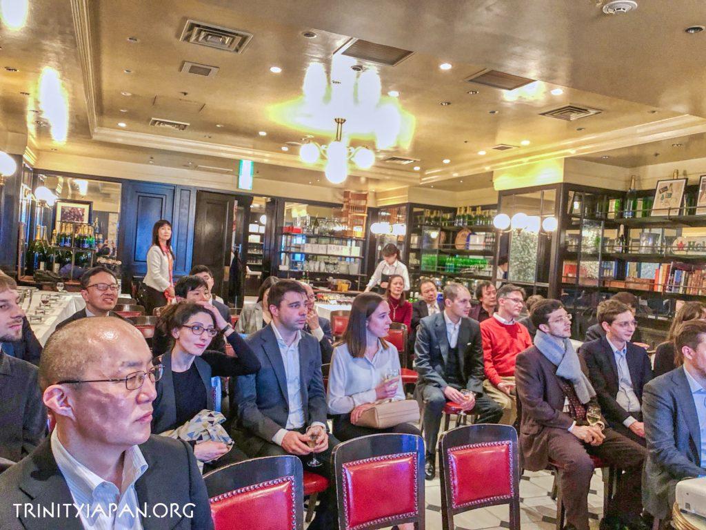 日本のコルポレートガバナンス改革。HEC, École Polytechnique, Sciences Po, Edhec, Essec、ケンブリッジ大学のトリニティ・イン・ジャパンの共同イベント